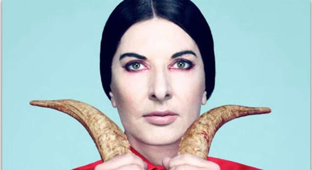 Sociedad Pregunta Trivia: ¿Quién es Marina Abramović?