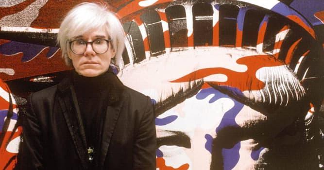 Cultura Pregunta Trivia: ¿Quién fue Andy Warhol?