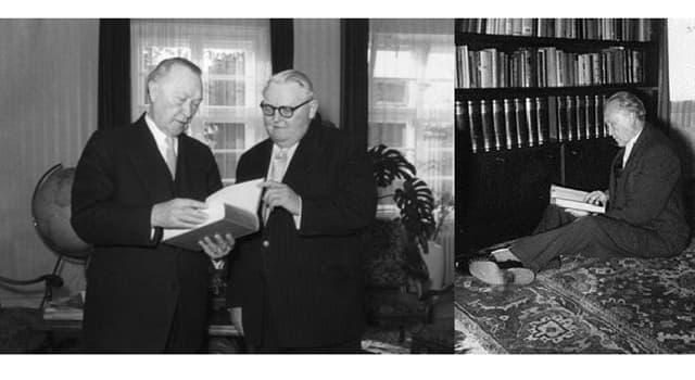 Historia Pregunta Trivia: ¿Quién fue Konrad Adenauer?