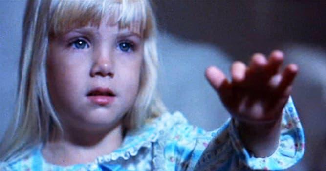 Películas Pregunta Trivia: ¿Quién fue la niña protagonista de la trilogía Poltergeist (Juegos diabólicos)?