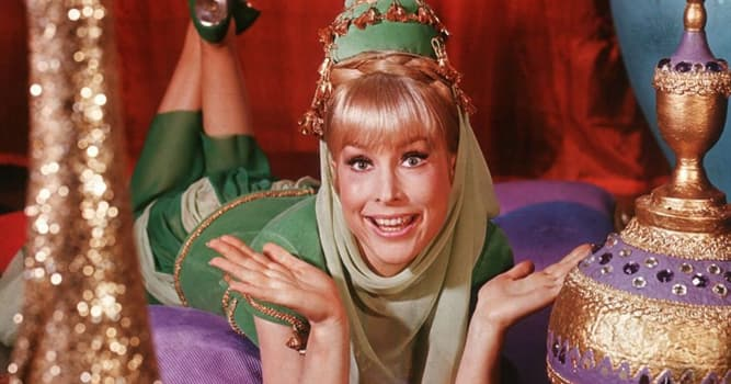 """Películas Pregunta Trivia: ¿Quién fue la protagonista de """"Mi bella genio"""" serie televisiva estadounidense entre 1965 y 1970?"""