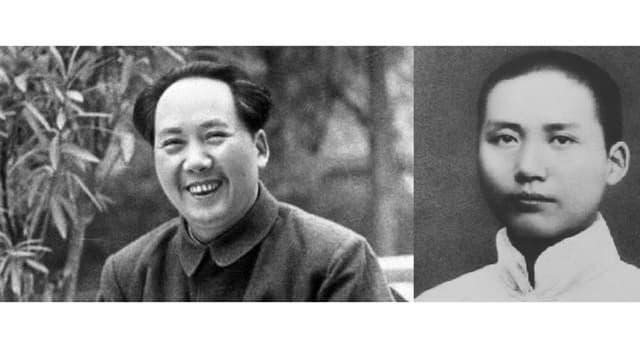 Historia Pregunta Trivia: ¿Quién fue Mao Zedong?