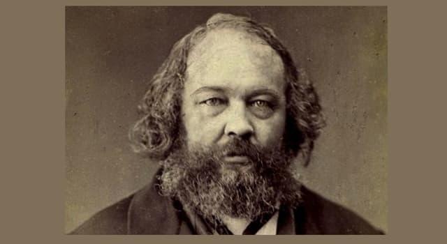 Historia Pregunta Trivia: ¿Quién fue Mijaíl Bakunin?