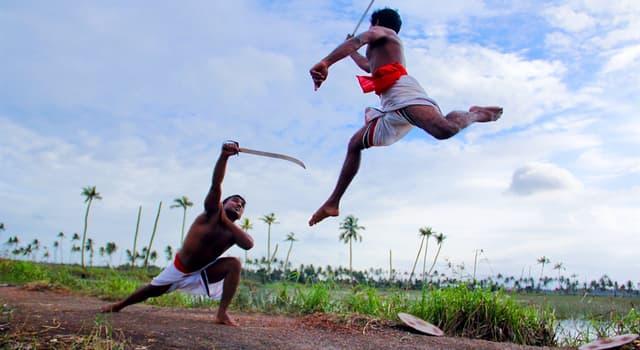 Deporte Pregunta Trivia: ¿El Kalaripayatu es un arte marcial de qué país?