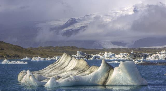 Geografía Pregunta Trivia: ¿Qué tipo de lago es Jökulsárlón en Islandia?