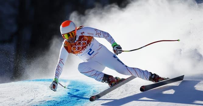 Deporte Pregunta Trivia: ¿Cuál de los siguientes deportes no involucra esquiar?