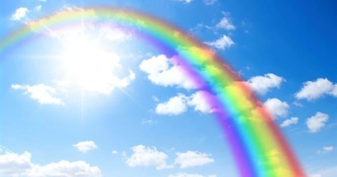Natur Wissensfrage: Wie viele Farben hat ein Regenbogen?