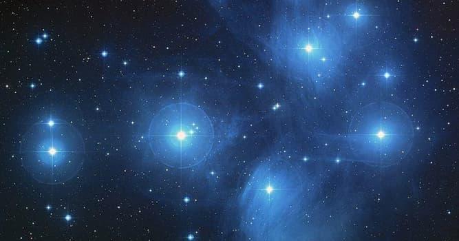 """Наука Запитання-цікавинка: Яке зоряне скупчення відомо як """"Сім сестер""""?"""