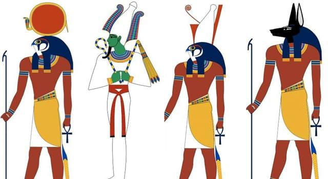 Cultura Pregunta Trivia: ¿A qué dios se le considera el iniciador de la civilización egipcia?