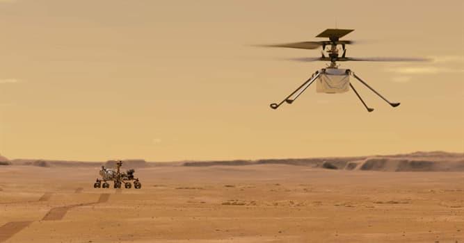 Сiencia Pregunta Trivia: ¿A qué misión espacial pertenece el helicóptero robótico Ingenuity?