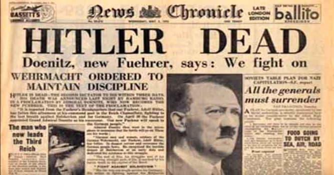 Historia Pregunta Trivia: ¿Cómo murió realmente Adolf Hitler?