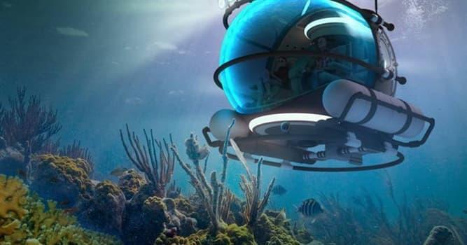 Сiencia Pregunta Trivia: ¿Cómo se llama el vehículo sumergible utilizado para explorar el fondo del mar?
