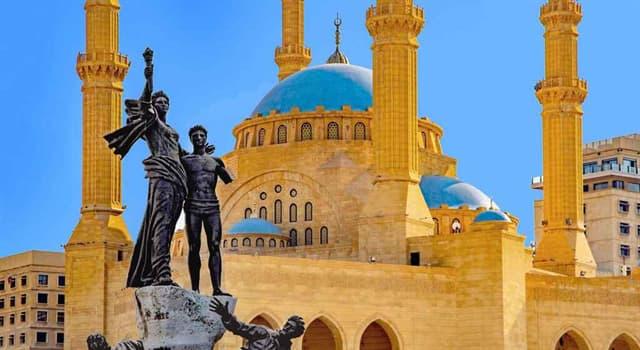 Geografía Pregunta Trivia: ¿Cuál fue el principal sector de la economía en el Líbano hasta mediados los años 70 del siglo XX?