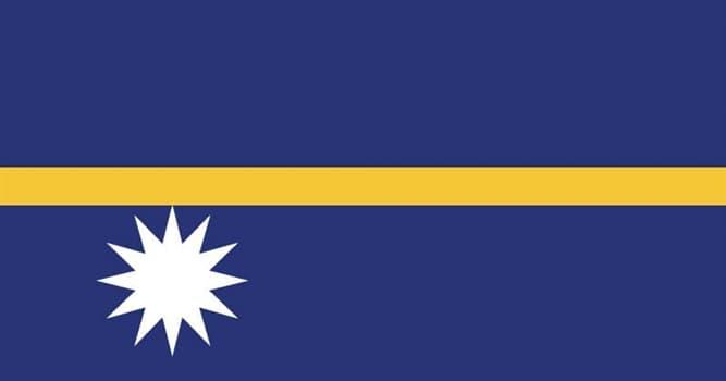 Geografía Pregunta Trivia: ¿Cuántas islas forman la República de Nauru?
