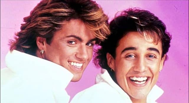 Cultura Pregunta Trivia: ¿De qué dúo formó parte George Michael antes de emprender su carrera en solitario?