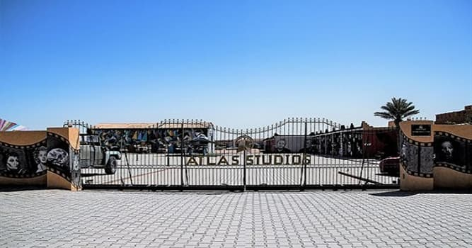 """Geografía Pregunta Trivia: ¿En qué ciudad de Marruecos existen los estudios cinematográficos llamados """"Atlas Studios""""?"""