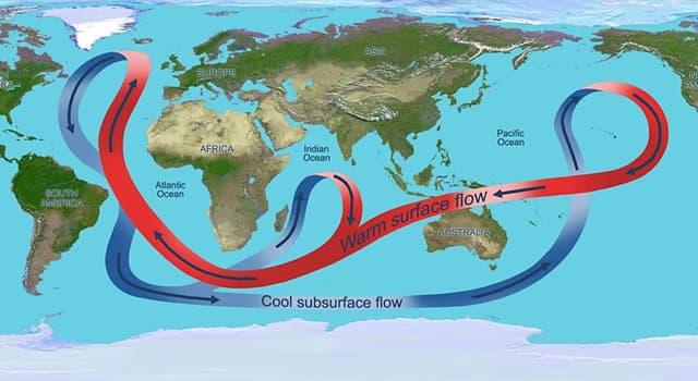 """Geografía Pregunta Trivia: ¿En qué golfo se origina la """"Corriente del Golfo""""?"""