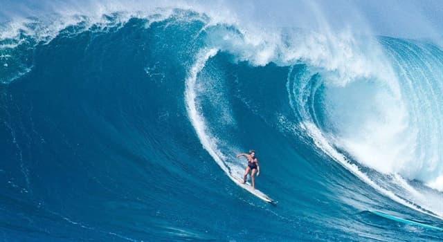 Geografía Pregunta Trivia: ¿En qué lugar se forman las olas más grandes del mundo?