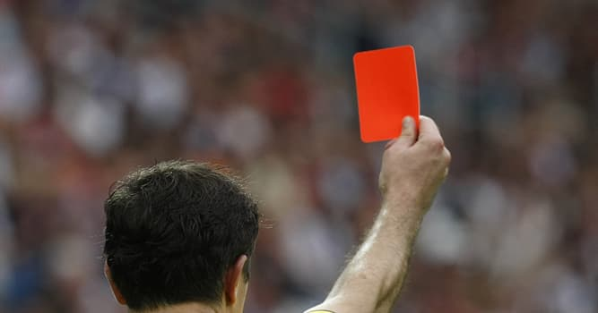 Deporte Pregunta Trivia: ¿En qué mundial de fútbol se aplicó y se usó por primera vez la tarjeta roja?