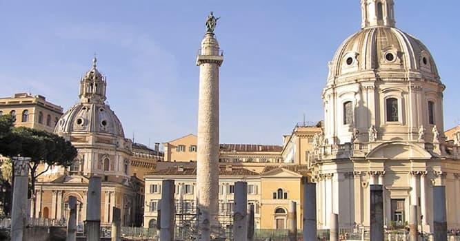 Geografía Pregunta Trivia: ¿En qué país se encuentra la Columna de Trajano?