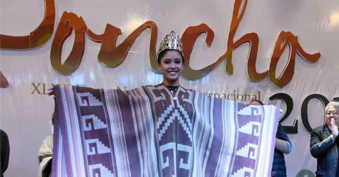 Cultura Pregunta Trivia: ¿En qué país se realiza la Fiesta Nacional e Internacional del Poncho?