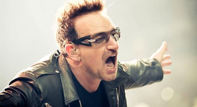 Cultura Pregunta Trivia: ¿Hasta 2021, a cuál de las siguientes distinciones no estuvo nominado Bono, el líder de la banda U2?