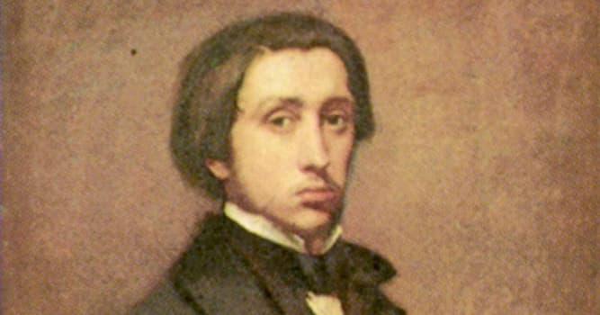 Cultura Pregunta Trivia: ¿En qué país nació el pintor impresionista Edgar Degas?