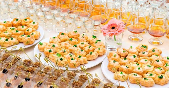 Kultura Pytanie-Ciekawostka: Jak nazywa się przekąska jedzona z napojami, ale przed posiłkiem?