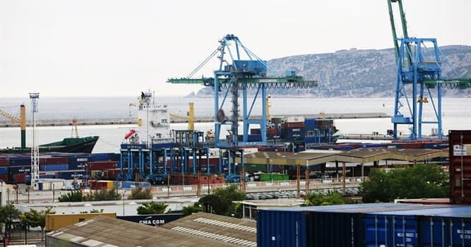 Geografia Pytanie-Ciekawostka: Na jakim morzu jest Port Marsylia Fos?
