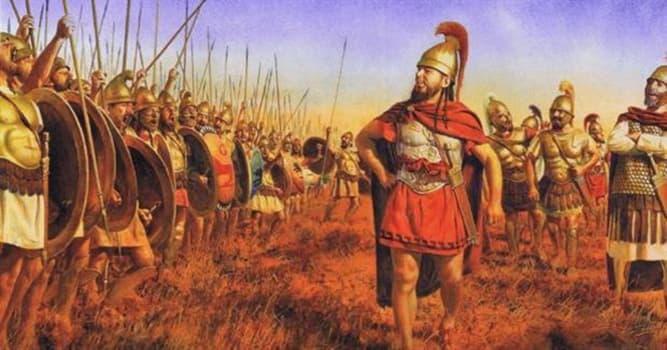 Historia Pregunta Trivia: ¿Qué militar cartaginés del siglo III a. C., apodado el Grande, fue partidario de la paz con Roma?