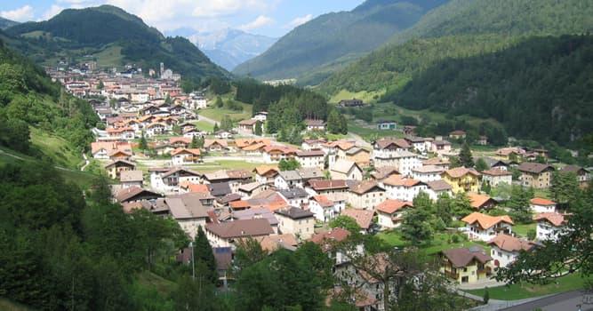 Geografía Pregunta Trivia: ¿Qué país tiene una provincia autónoma llamada Trento?