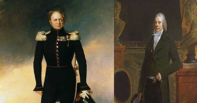 Historia Pregunta Trivia: ¿Qué político y diplomático fue nombrado Primer Ministro de Francia tras la primera caída de Napoleón?