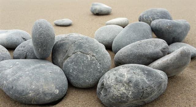 Naturaleza Pregunta Trivia: ¿Qué tipo de roca es el basalto?