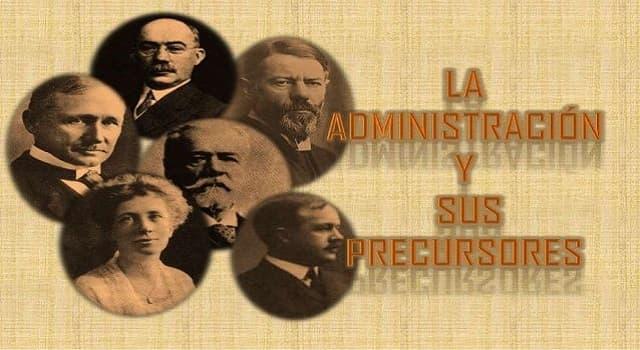 Sociedad Pregunta Trivia: ¿Quién desarrolló la Teoría clásica de la administración?