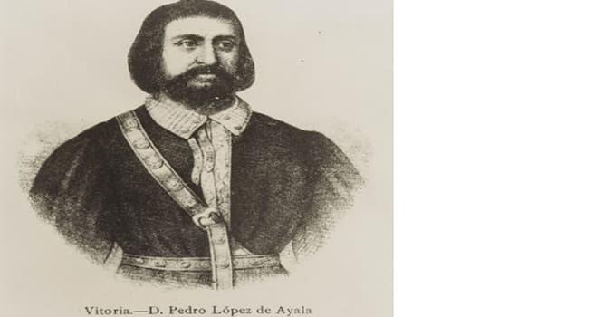 Cultura Pregunta Trivia: ¿Quién fue Pedro López de Ayala?