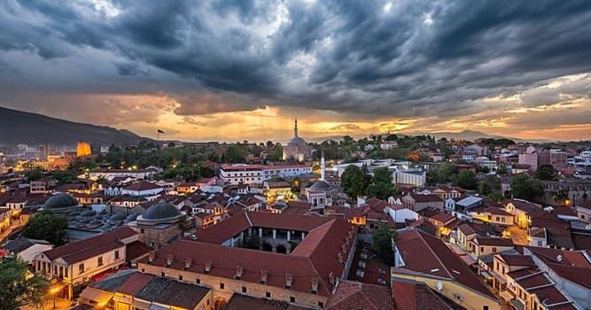 Geographie Wissensfrage: Was ist die Hauptstadt Mazedoniens?