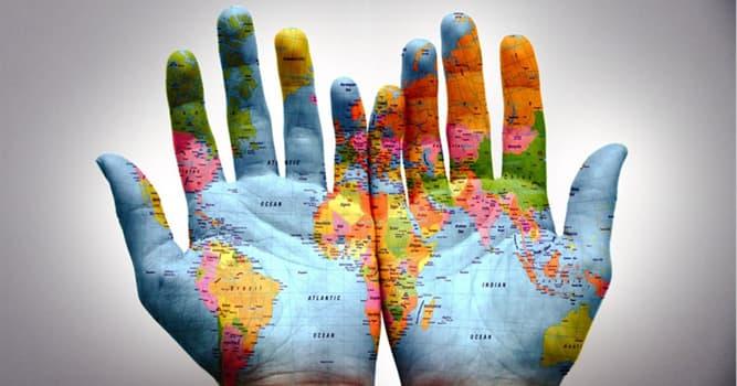 Geographie Wissensfrage: Welches der unten genannten Länder ist das größte nach der Fläche?