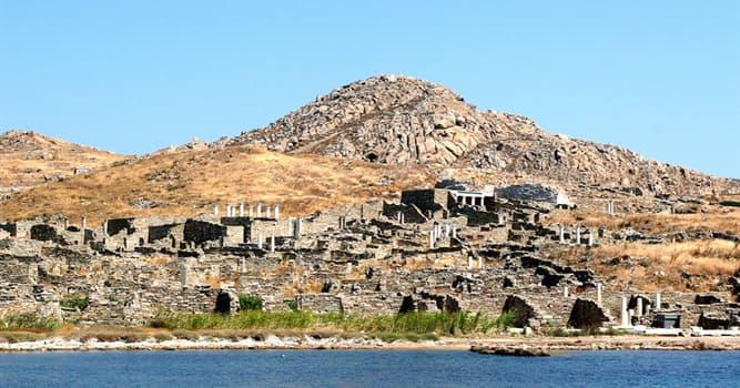 Kultur Wissensfrage: Wie war die griechische Insel Delos laut dem Mythos?