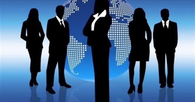 Gesellschaft Wissensfrage: Wie wird der Gründer und Inhaber eines Unternehmens bezeichnet?