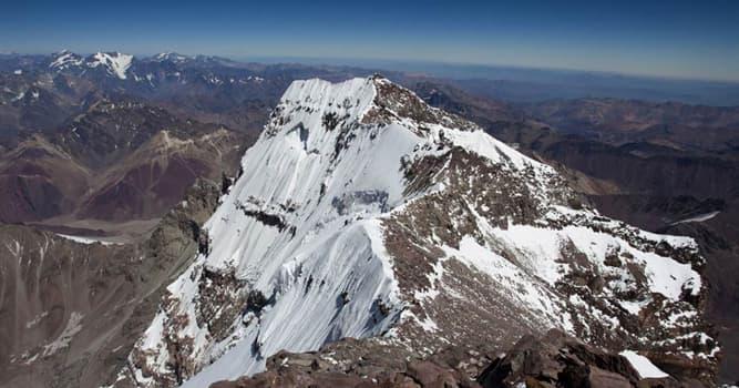 Geografía Pregunta Trivia: ¿Cuál es el pico más alto de América?
