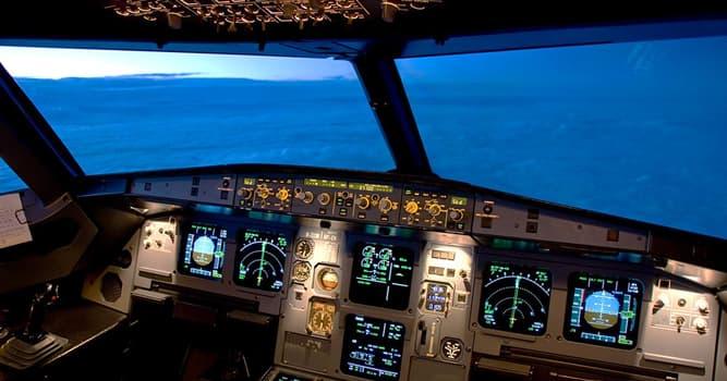 Сiencia Pregunta Trivia: ¿Cuál es el sistema que controla la trayectoria de un avión sin requerir una guía manual constante?