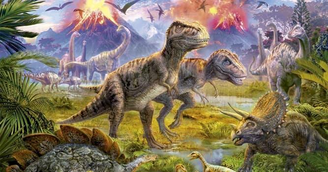 Сiencia Pregunta Trivia: ¿Cuál es la causa más probable de la extinción de los dinosaurios?