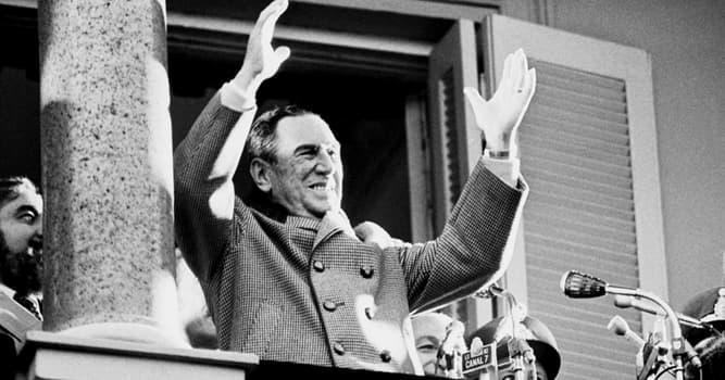 Historia Pregunta Trivia: ¿Cuántos períodos presidenciales tuvo Juan Domingo Perón en la República Argentina?