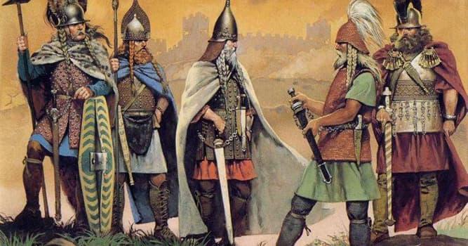 Historia Pregunta Trivia: ¿De qué zona de Europa eran nativos los gaélicos o goidélicos?