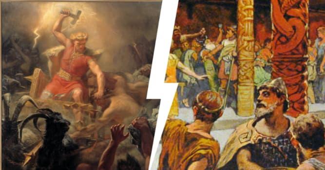 Cultura Pregunta Trivia: ¿En la mitología nórdica, quién es Bragi?