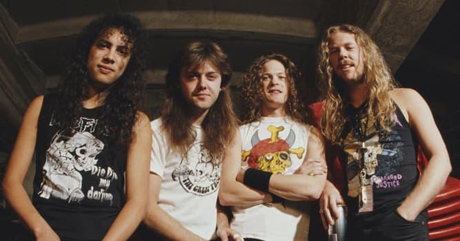 Cultura Pregunta Trivia: ¿En qué año se formó la banda de heavy metal Metallica?