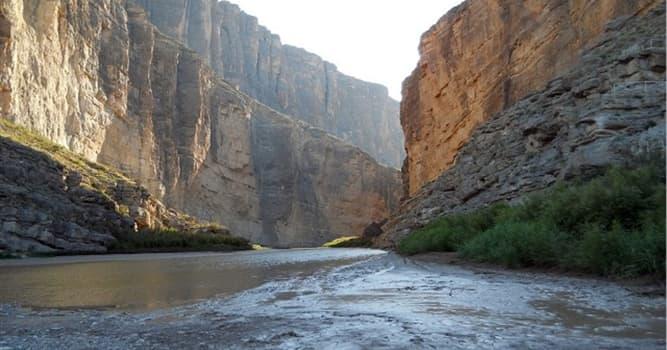 Geografía Pregunta Trivia: ¿Por cuántos estados de la república mexicana discurre el rio Bravo?