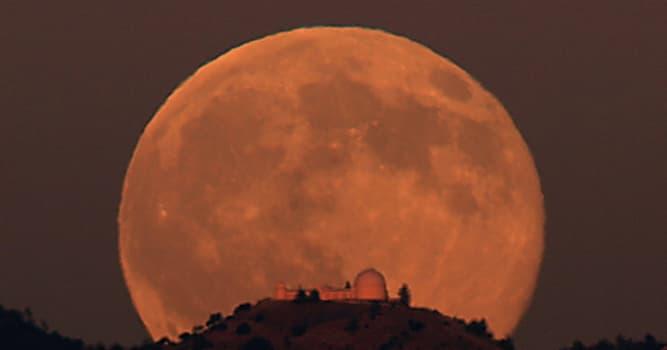 Сiencia Pregunta Trivia: ¿Por qué la Luna parece más grande cerca del horizonte?
