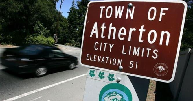 Sociedad Pregunta Trivia: ¿Qué caracteriza al pueblo de Atherton en California, Estados Unidos?