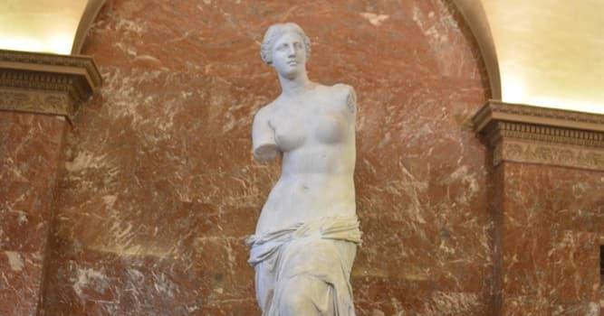 """Cultura Pregunta Trivia: ¿Qué diosa griega representa """"La Venus de Milo""""?"""